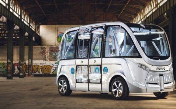 El primer vehículo sin conductor de España